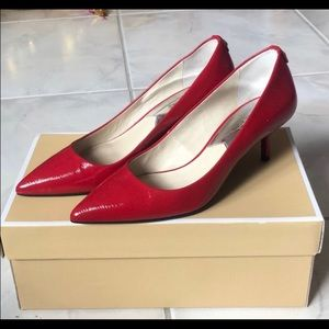 Michael Kors Red heel 9 1/2